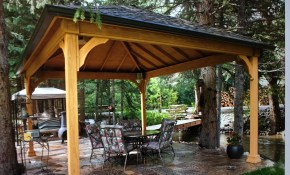 Pin J Clark On Outdoor Gazebo Backyard Gazebo Backyard throughout 13 Some of the Coolest Ways How to Makeover Pavilion Ideas Backyard