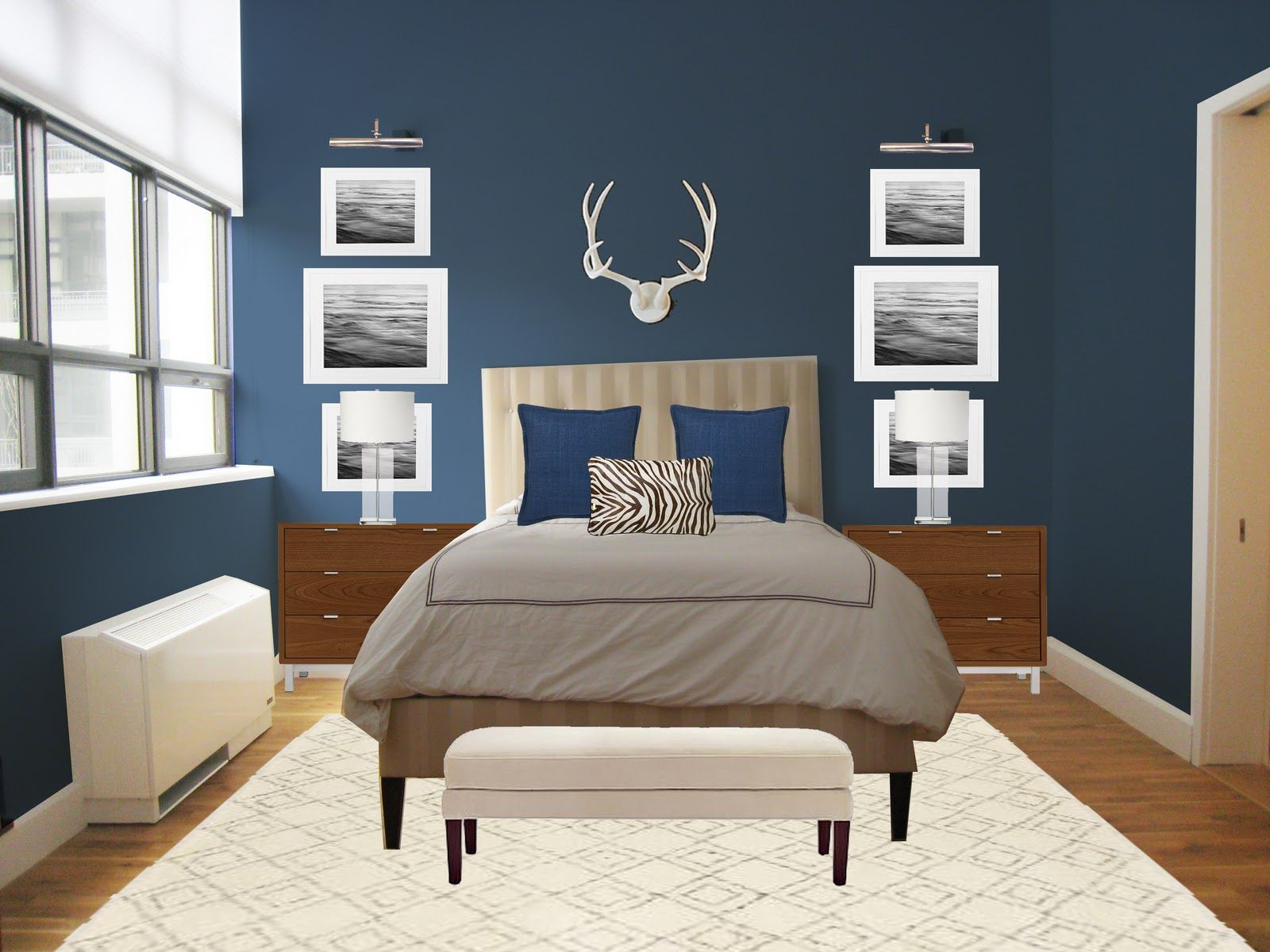 Pin Karen Rice On Bedrooms In 2019 Bedroom Colors Bedroom pertaining to 10 Clever Designs of How to Makeover Modern Colors For Bedrooms