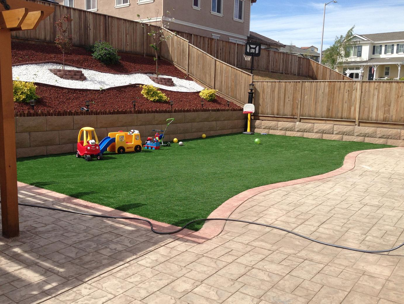 Plastic Grass Pleasanton Texas Playground Backyard Ideas throughout Backyard Ideas Texas