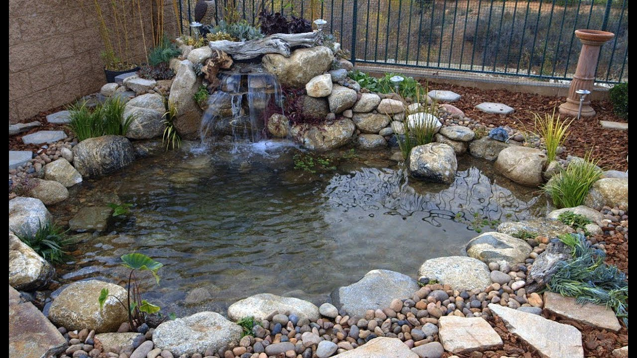 Ponds Gone Wrong Backyard Ponds Episode 2 Part 2 Youtube throughout 14 Awesome Ideas How to Build Backyard Pond Landscaping