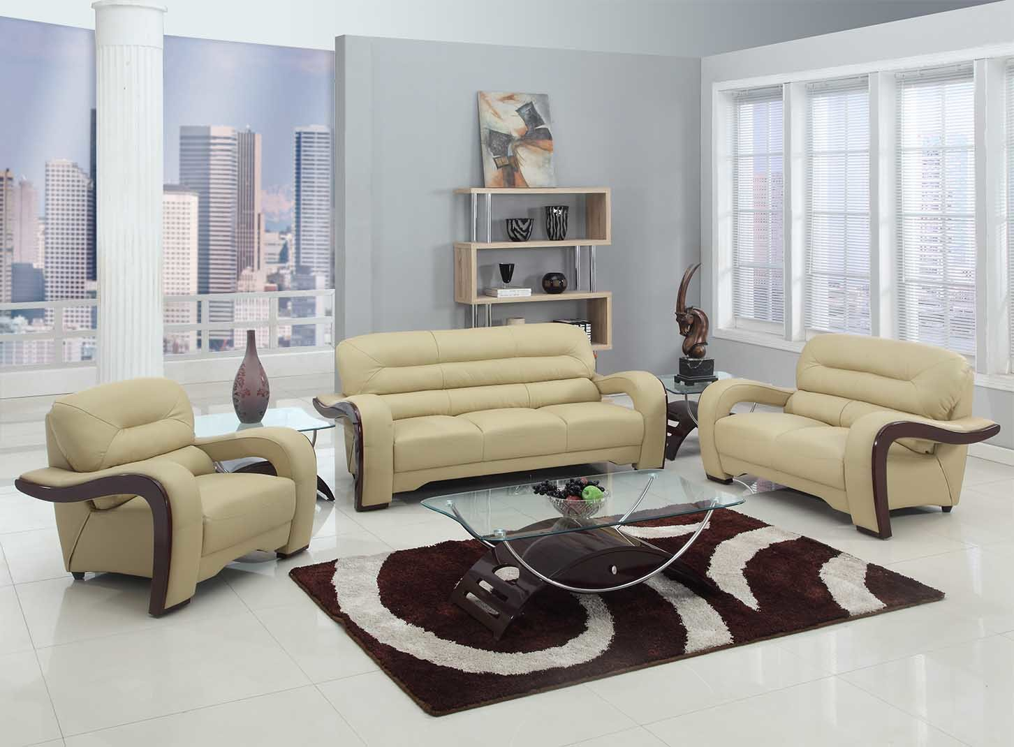 Red Barrel Studio Trower 3 Piece Living Room Set Wayfair regarding Luxurious Living Room Sets