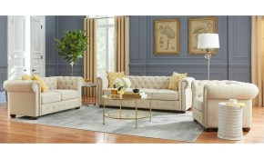 Shop Simple Living Barwick 3 Piece Chesterfield Livingroom Set throughout 13 Genius Designs of How to Craft Chesterfield Living Room Set