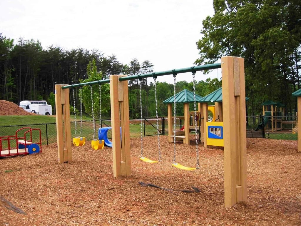 Simple Diy Swing Set Ideas Plans All Home Ideas Outdoor Stuff In intended for 12 Smart Ideas How to Upgrade Backyard Swing Set Ideas