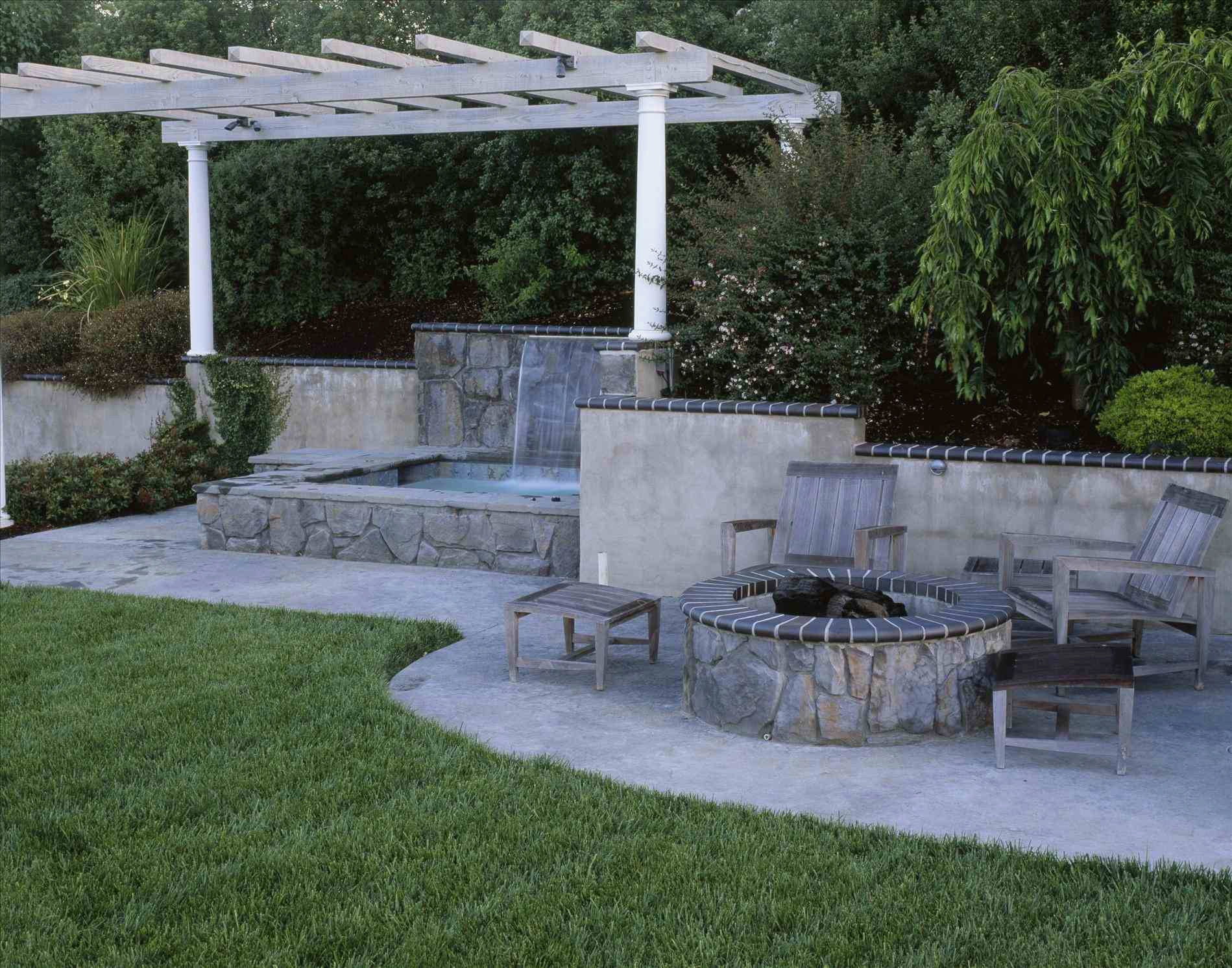 Simple Hot Tub Backyard Ideas Cool Home Design Photo On Architecture pertaining to Hot Tub Backyard Ideas