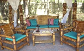 Six Piece Bamboo Living Room Set Bambu Diy Sunroom Furniture inside 15 Awesome Concepts of How to Make Bamboo Living Room Set