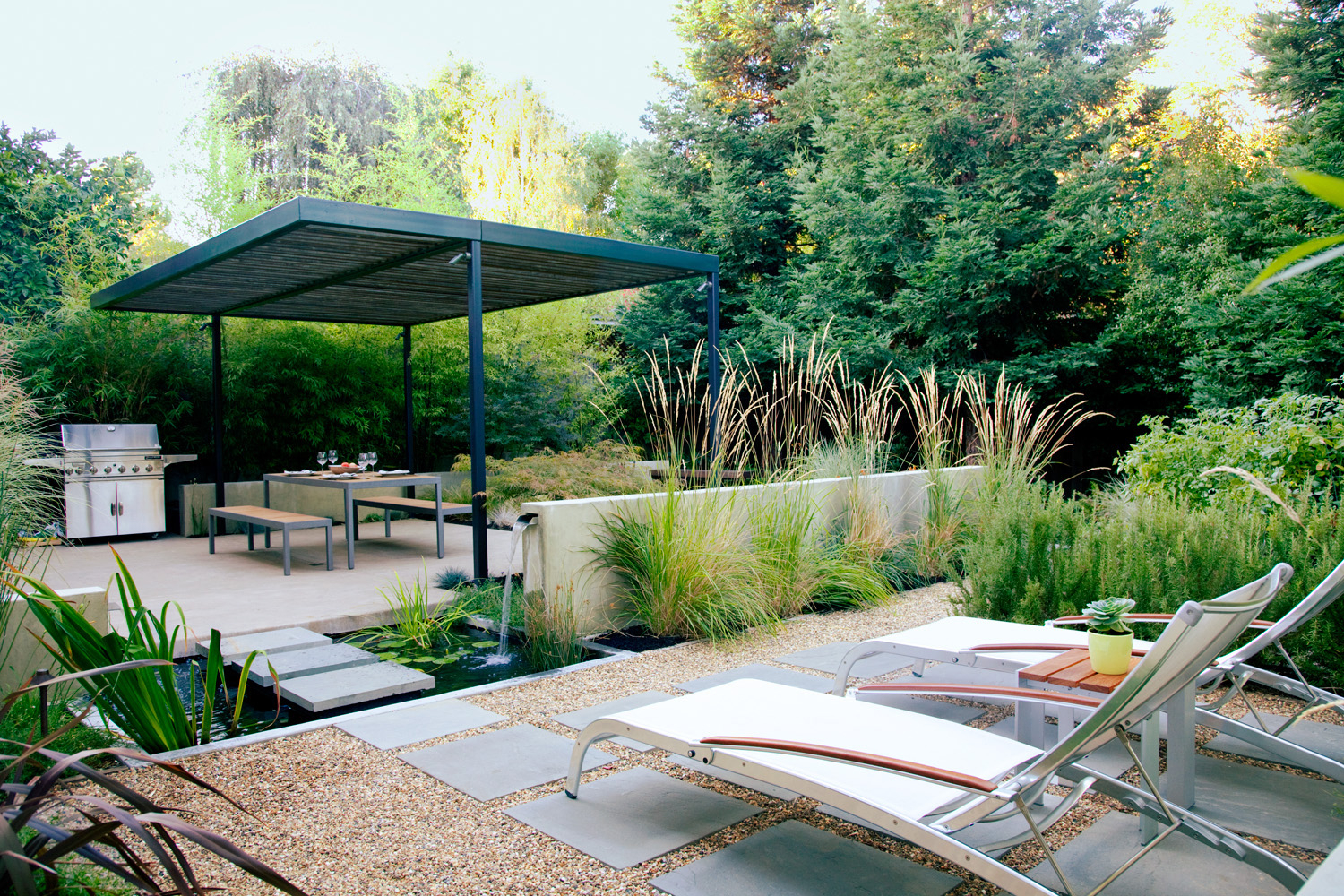 Small Backyard Design Ideas Sunset Magazine within Backyard Ideas Patio