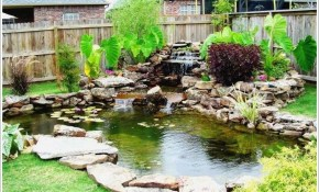 Small Backyard Fish Pond Ideas Pond Garden Pond Exteriorsfish in 13 Clever Initiatives of How to Make Easy Backyard Pond Ideas