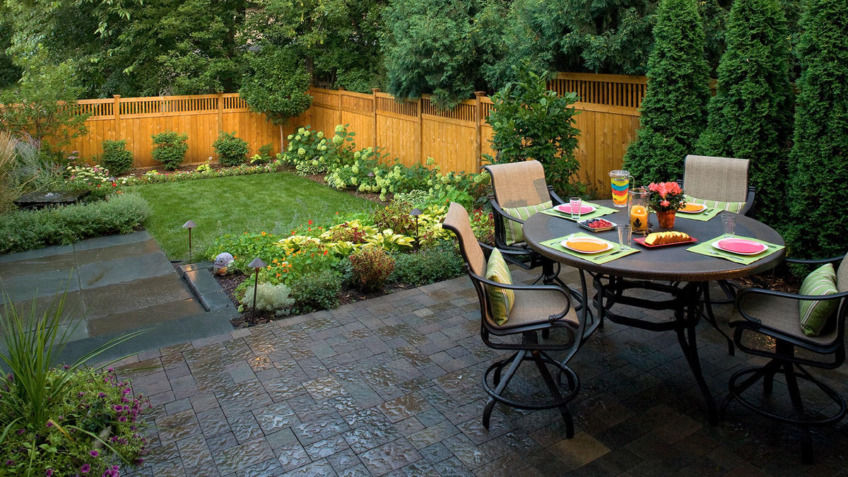 Small Backyard Landscaping In Minneapolis Southview Design in Landscaping A Backyard