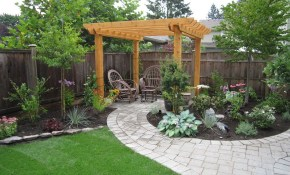 Small Backyard Makeover Yard Ideas Small Backyard Gardens Small pertaining to Small Backyard Landscape