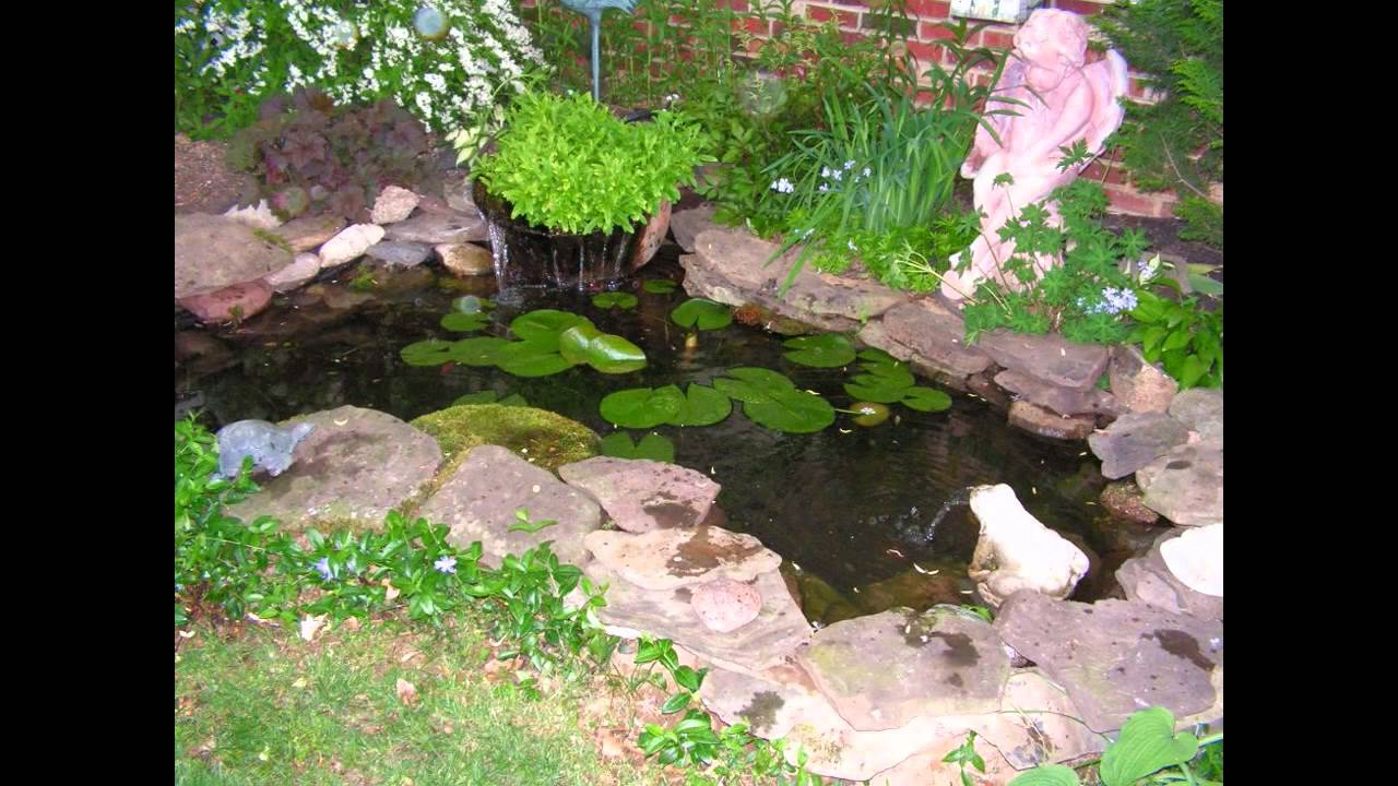 Small Garden Fish Ponds Design Ideas Youtube with 10 Genius Tricks of How to Improve Backyard Pond Ideas Small