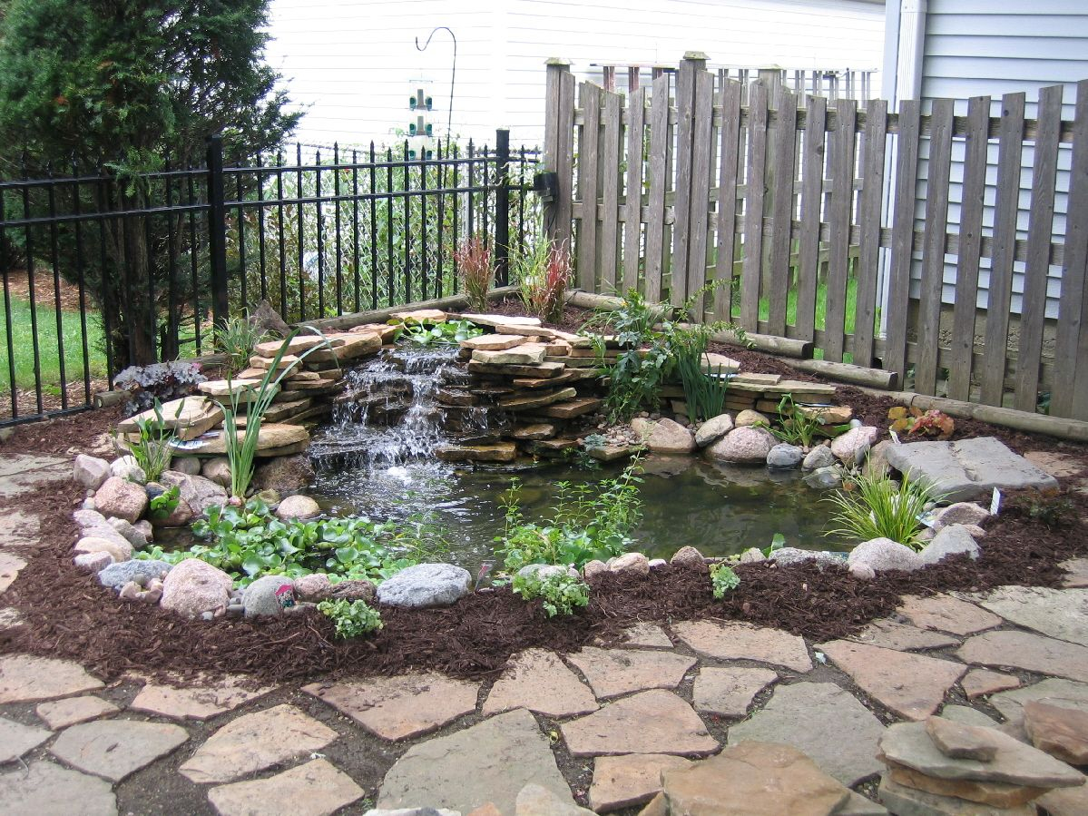Small Pond Waterfall Ideas Aquatic Landscaping Ponds Streams in Backyard Small Pond Ideas
