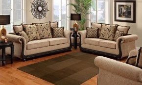 Sofa Trendz Bowen Taupe Microfiber Sofa And Loveseat Set Free with regard to 15 Smart Ideas How to Makeover Living Room Sets Free Shipping