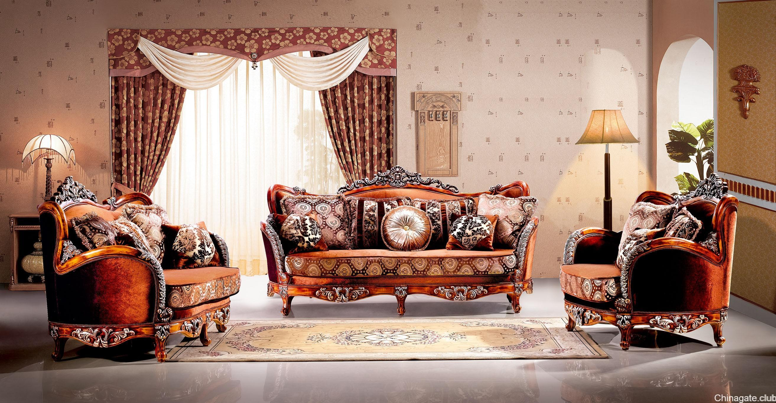 Supremo Traditional in Luxury Living Room Sets