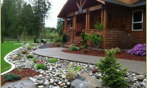 Sweet Front Yard Landscaping Ideas With Rocks Veterans Against The pertaining to 10 Clever Initiatives of How to Improve Rock Backyard Landscaping Ideas