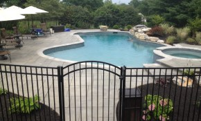 Swimming Pool Fence Ideas intended for Backyard Pool Fence Ideas