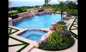 Swimming Pool Landscaping Ideas For Backyard Youtube for 15 Smart Designs of How to Makeover Backyards With Pools And Landscaping