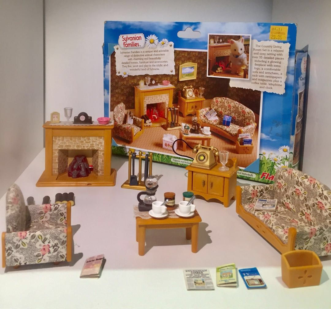 Sylvanian Families Country Living Room Set Babies Kids Toys intended for 12 Some of the Coolest Tricks of How to Improve Sylvanian Families Cosy Living Room Set
