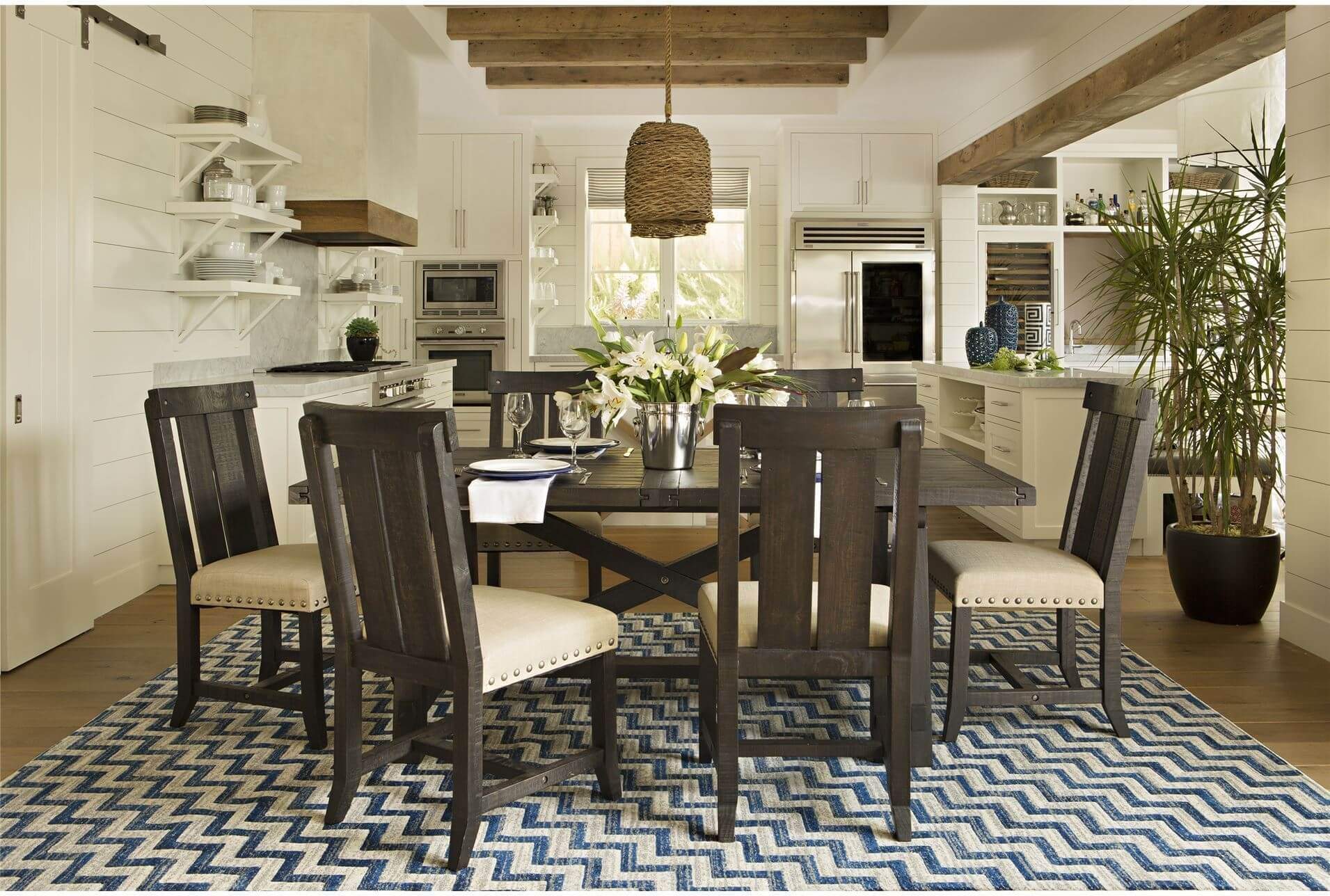 The Benefits Of Rectangular Dining Room Table Jowilfried Tsonga Decor in Living Spaces Dining Room Sets