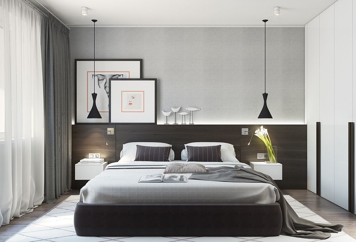 The Best Arrangement To Make Our Home Looks Spacious Bedroom with 14 Awesome Concepts of How to Build Modern Minimalist Bedroom