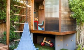 Tips Top Backyard Playhouse Design For Your Yard Billharris within Backyard Playhouse Ideas