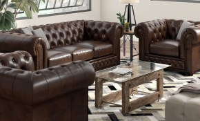 Trent Austin Design Worcester Leather 3 Piece Living Room Set Wayfair throughout 12 Genius Ways How to Upgrade Living Room Sets Leather
