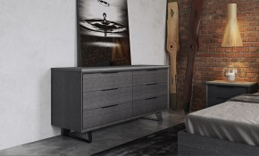 Urbano Gray Oak Contemporary Bedroom Dressers Modern Bedroom Dresser pertaining to 10 Awesome Designs of How to Upgrade Modern Bedroom Chest Of Drawers