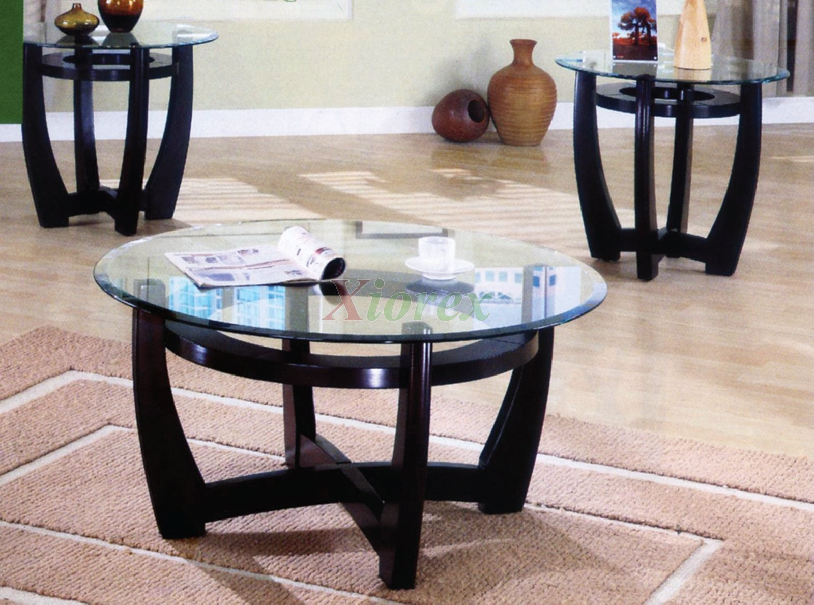Ursa 3 Piece Living Room Table Set Xiorex for Table Sets Living Room