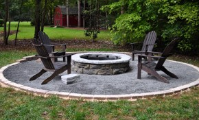 Value Fire Pit Designs Rustic Diy Ideas Med Art Home Design Posters intended for Backyard Landscaping With Fire Pit