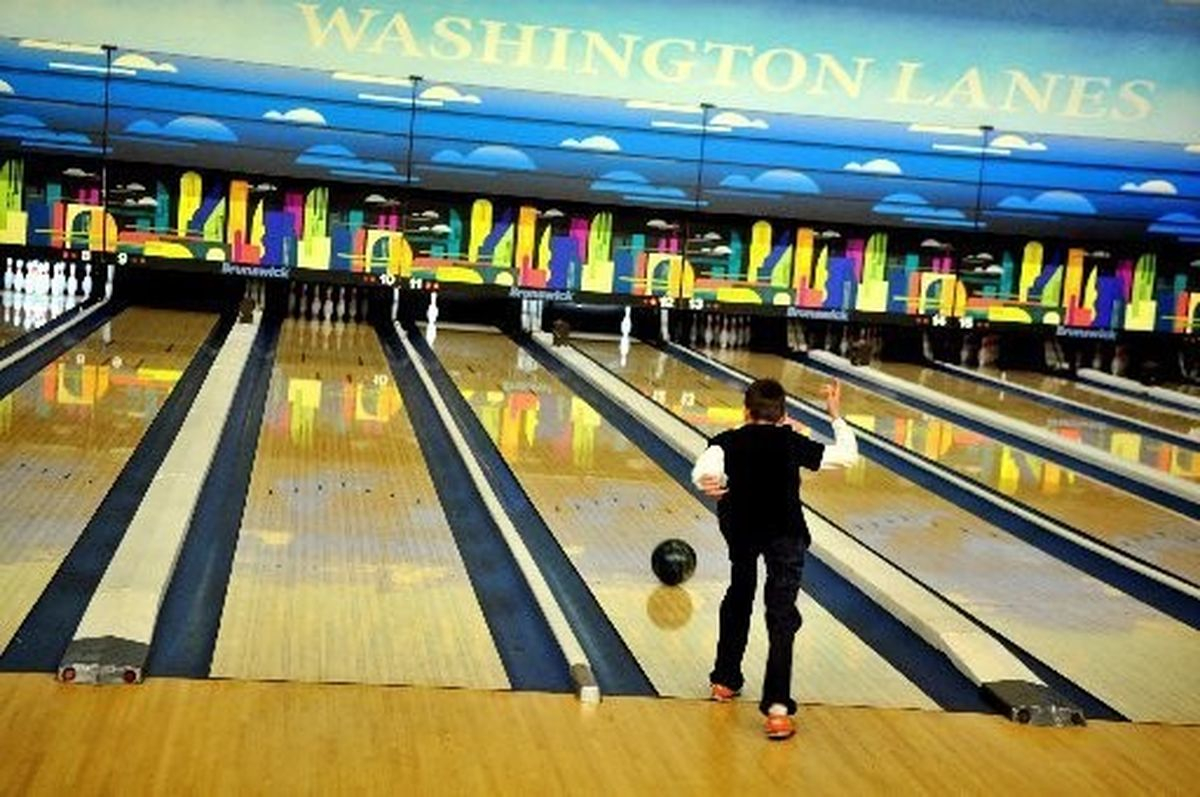 Washington Lanes Bowling Center In Downtown Bay City Remains For with Living Room Lanes Bowling Set