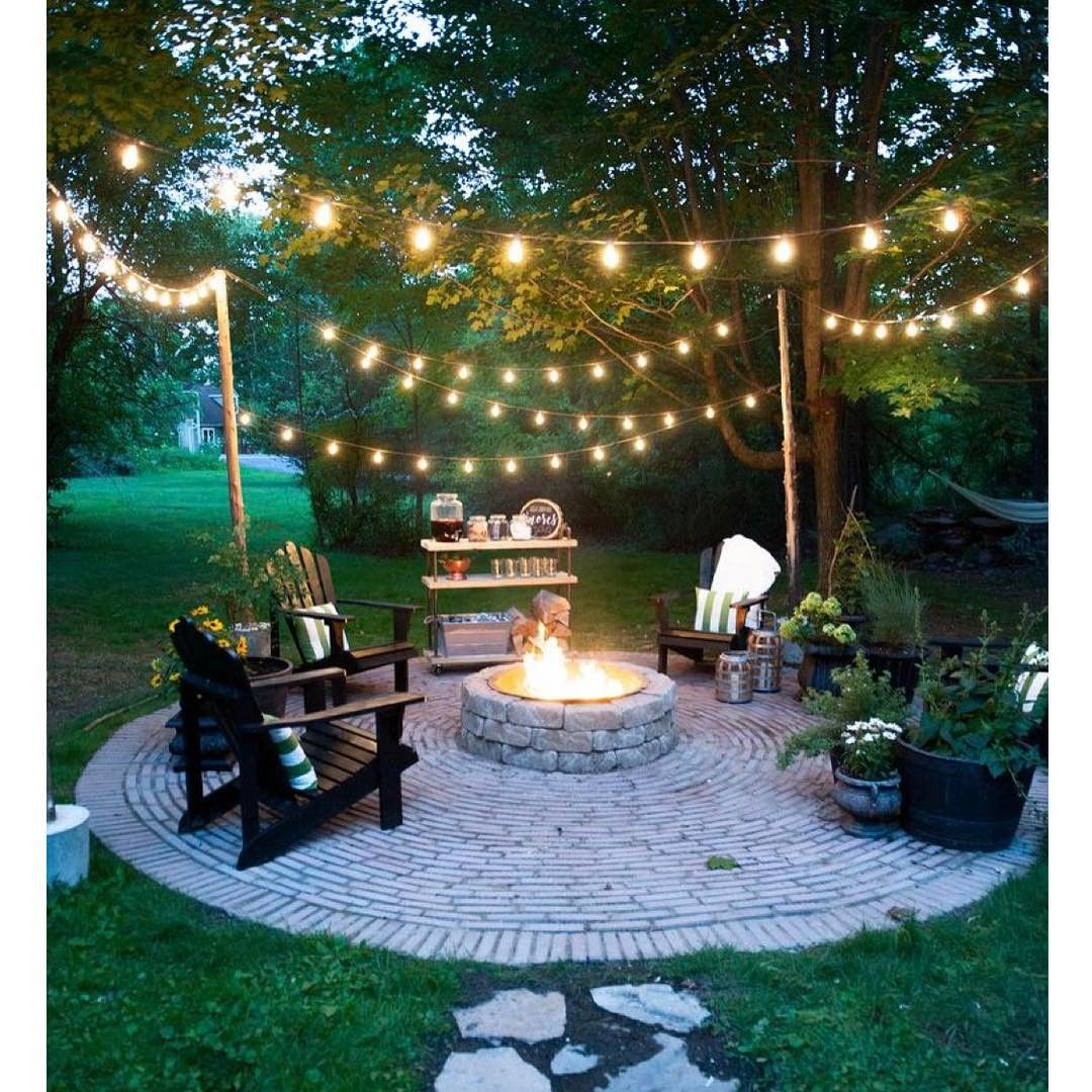 Welcome Warmer Weather With These Patio String Light Ideas Outdoor regarding 11 Genius Tricks of How to Upgrade Backyard String Lights Ideas