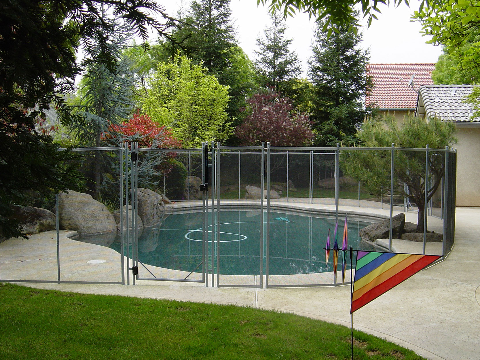 Why To Use Guardian Pool Fencing For Your Swimming Pool for 15 Genius Designs of How to Make Backyard Pool Fence Ideas