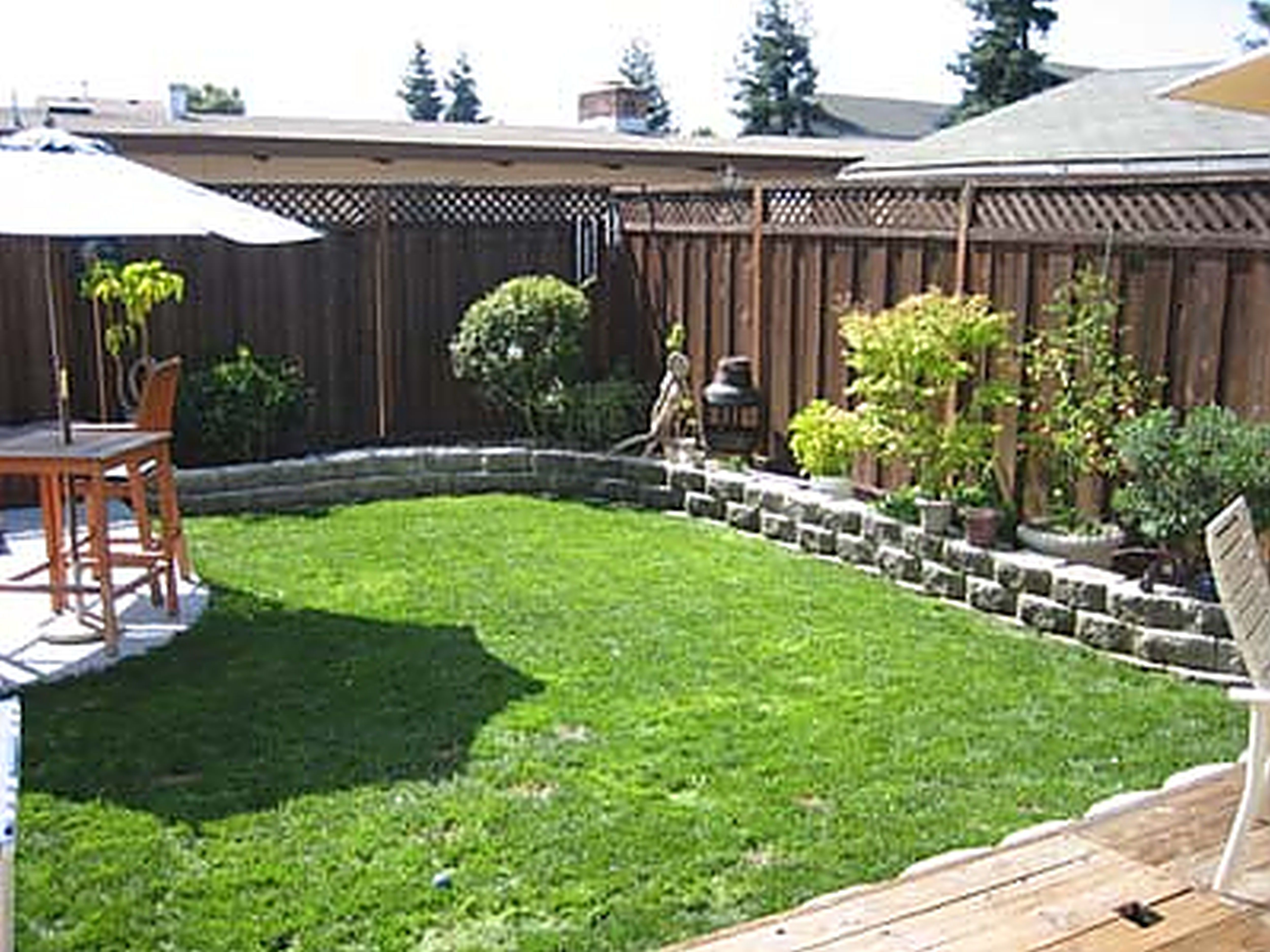 Yard Landscaping Ideas On A Budget Small Backyard Landscaping in Landscaping Ideas For Backyard On A Budget