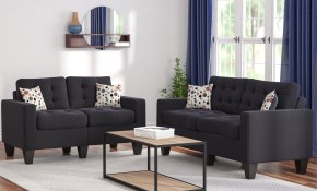 Zipcode Design Amia 2 Piece Living Room Set Reviews Wayfair for 2 Piece Living Room Furniture Set