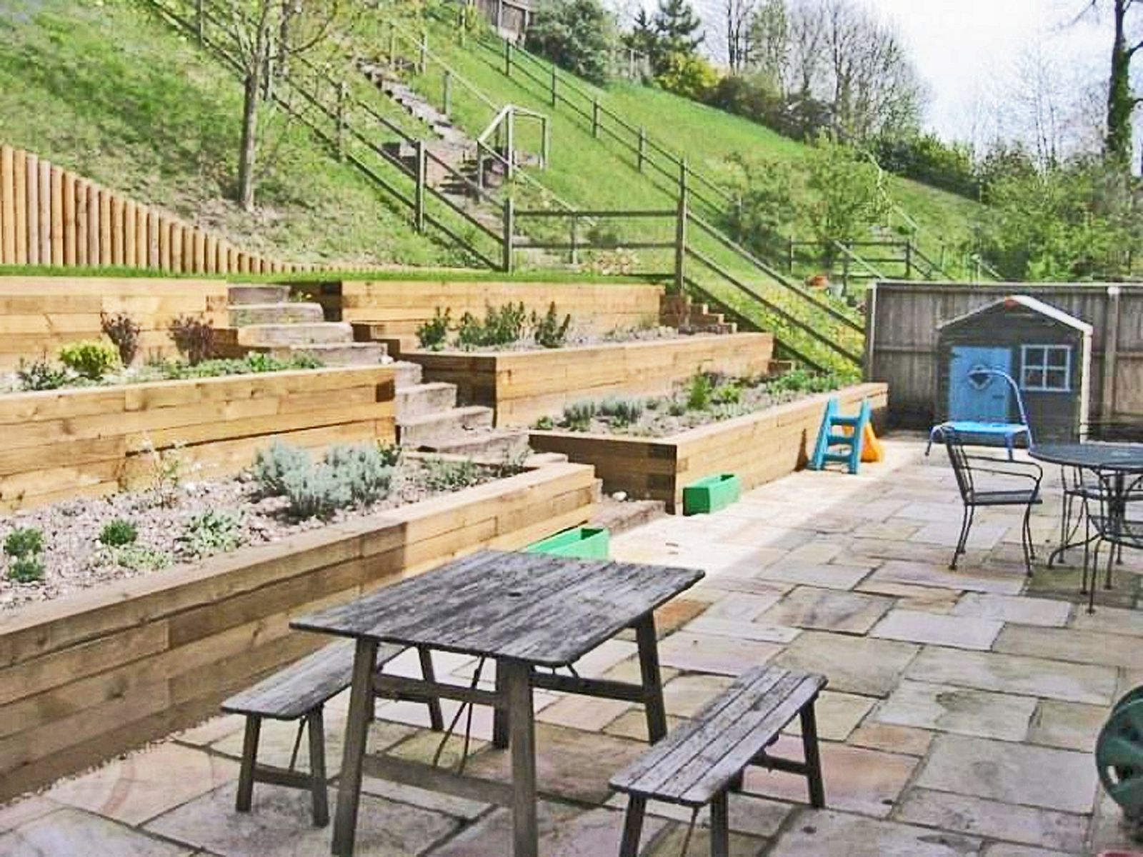 13 Hillside Landscaping Ideas To Maximize Your Yard for 13 Smart Concepts of How to Upgrade Backyard Hill Ideas