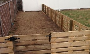 15 Pallet Fence Ideas To Improve Your Amazing Home Pallet Fence with 11 Clever Ways How to Improve Backyard Fencing Ideas For Dogs