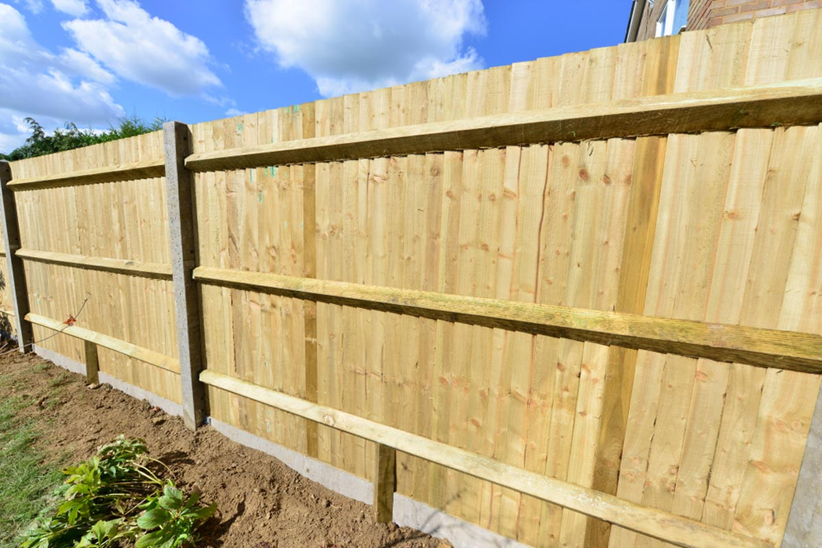 2019 Wood Fence Costs Cost To Install Privacy Fence Per Foot in Backyard Fence Cost