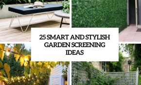25 Smart And Stylish Garden Screening Ideas Backyard Garden pertaining to Screening Ideas For Backyards