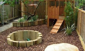 29 Creative Small Backyard Playground Kids Design Ideas Doitdecor within 15 Genius Concepts of How to Craft Creative Backyard Ideas