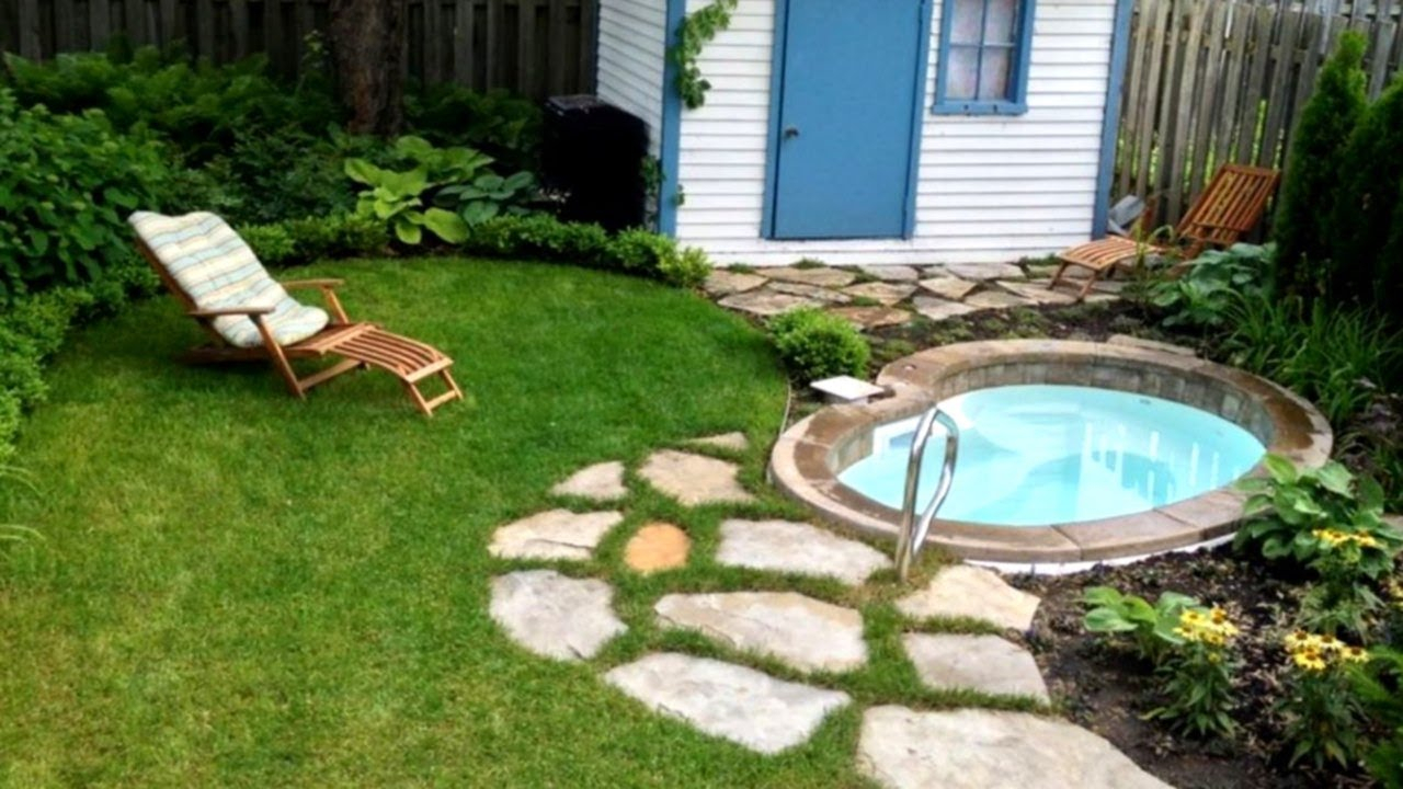 29 Small Yard Design Ideas Landscaping Ideas Youtube for 15 Some of the Coolest Initiatives of How to Makeover How To Landscape A Small Backyard