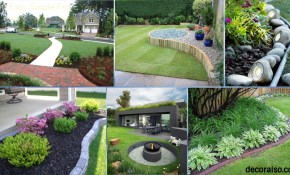 48 Simple Landscaping Ideas For Your Backyard Decoraiso for Backyard Easy Landscaping Ideas