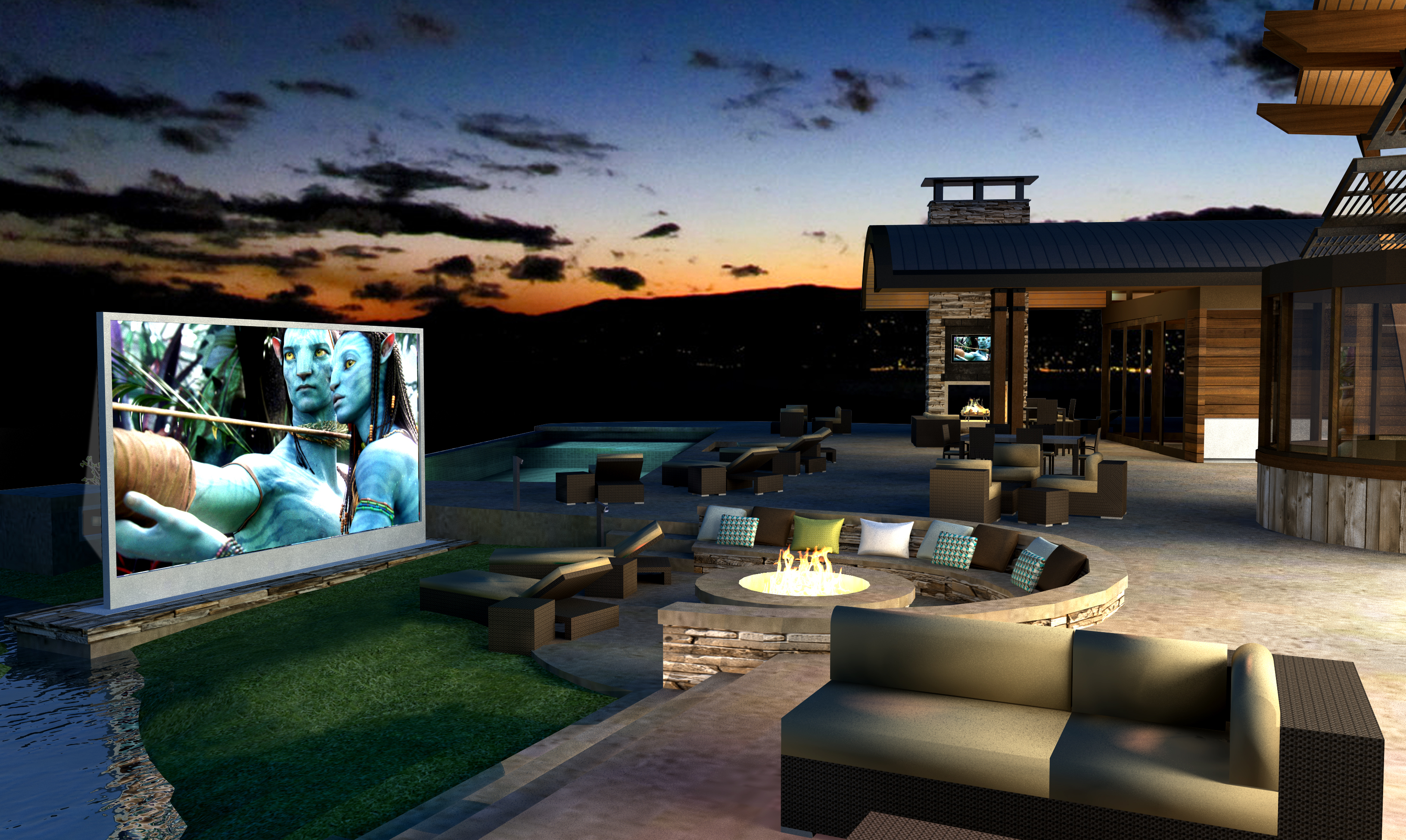 5 Outdoor Home Theater Ideas Festival Du Panier pertaining to 14 Clever Ideas How to Make Backyard Theater Ideas