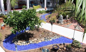6 Backyard Design Ideas Exotic Pebbles And Glass pertaining to 15 Clever Initiatives of How to Build Decorative Stones For Backyard