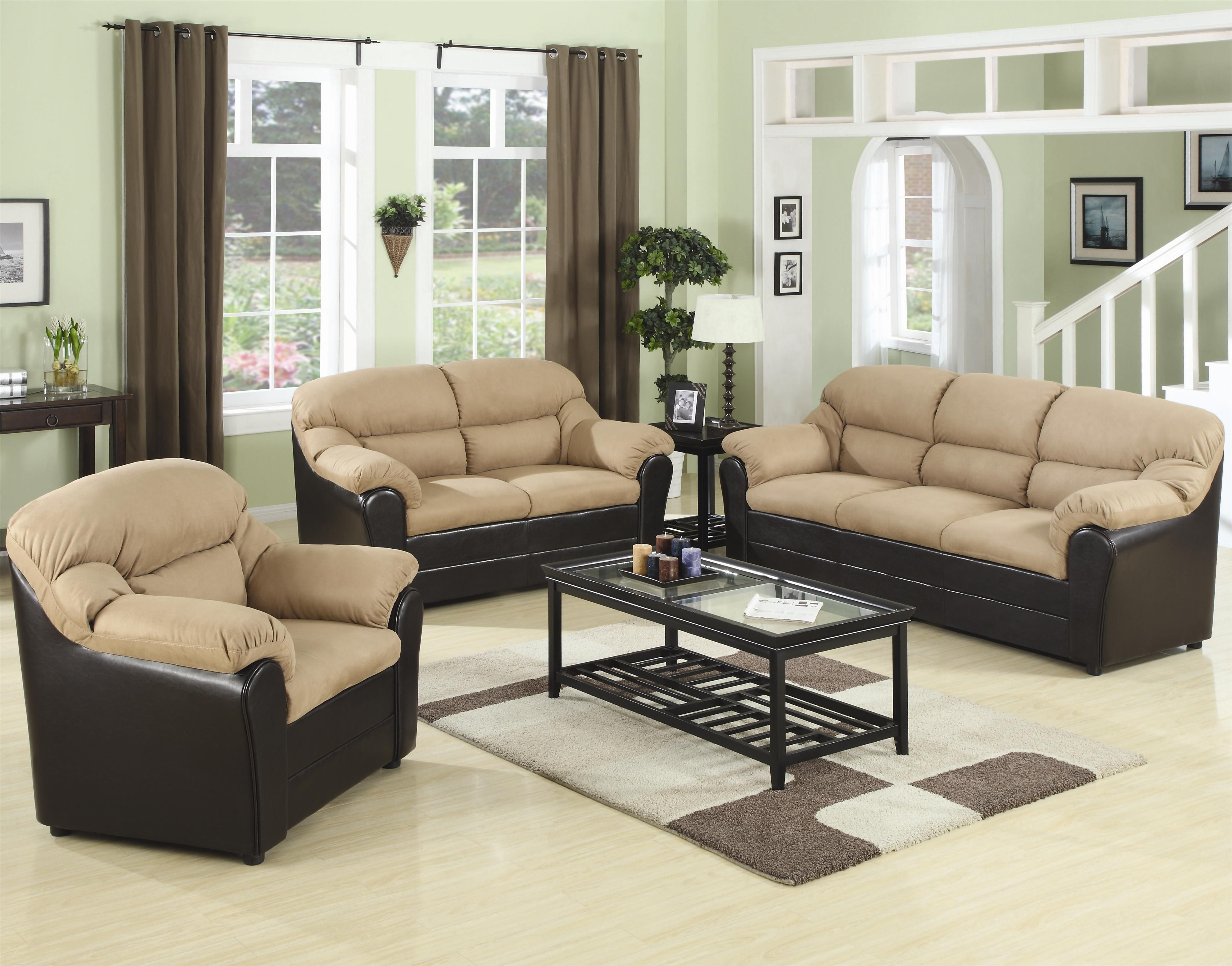 Affordable Living Room Sets With Elegant Sofa With Minimalist Table intended for Cheapest Living Room Sets