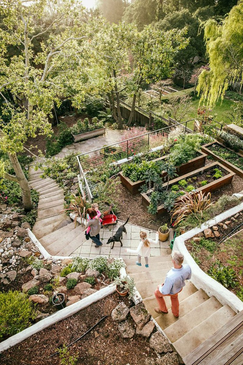 Amazing Ideas To Plan A Sloped Backyard That You Should Consider throughout 15 Some of the Coolest Tricks of How to Craft Sloped Backyard Landscaping