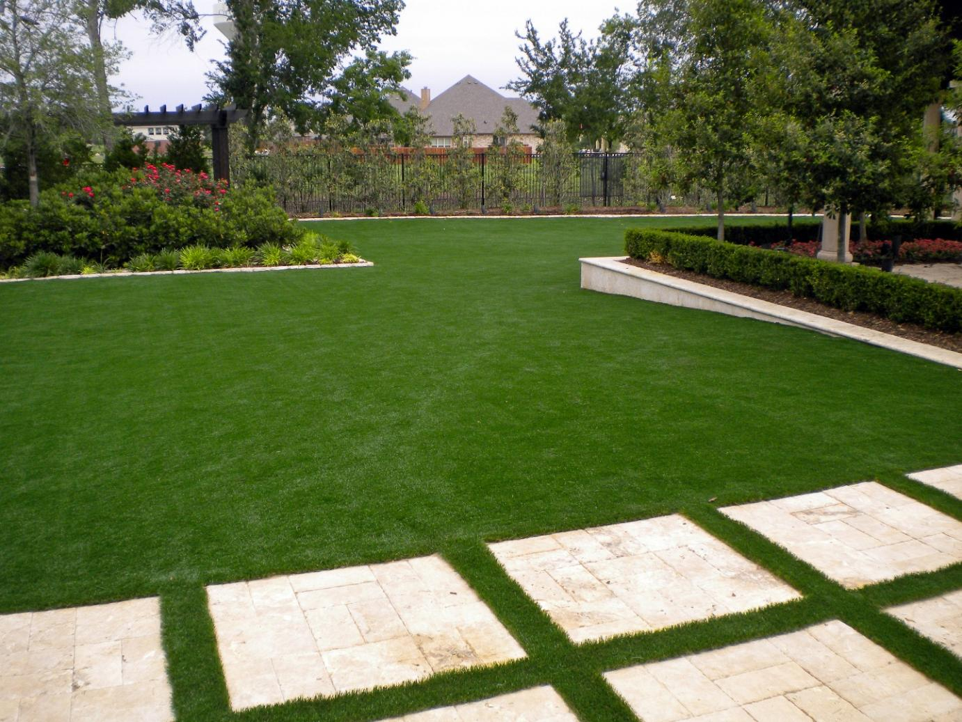 Artificial Turf Cost Sycamore Georgia Landscape Photos Beautiful throughout Cost Of Backyard Landscaping