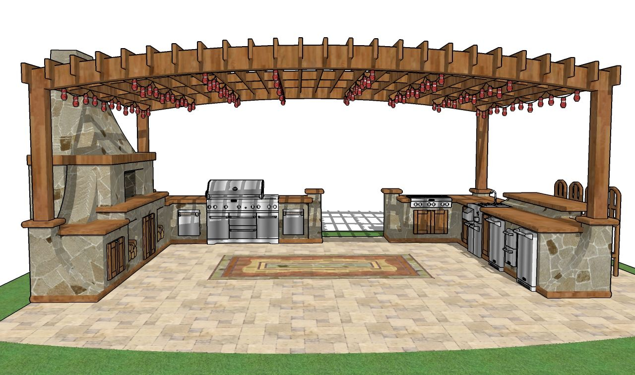 Backyard Bar Plans Free Gazebo Plans How To Build A Gazebo Free throughout 12 Genius Ways How to Make Backyard Gazebo Ideas