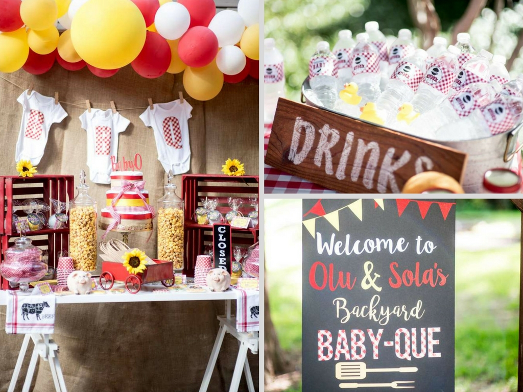 Backyard Bbq Ba Shower Ba Shower Ideas Themes Games within 15 Some of the Coolest Designs of How to Craft Backyard Baby Shower Ideas