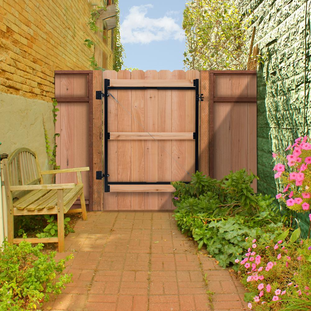 Backyard Fence Ideas Gate Kit Patio Backyard Porch Interesting for 13 Clever Ways How to Improve Gate For Backyard Fence