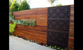 Backyard Garden Fence Ideas Youtube pertaining to Backyard Fences Ideas