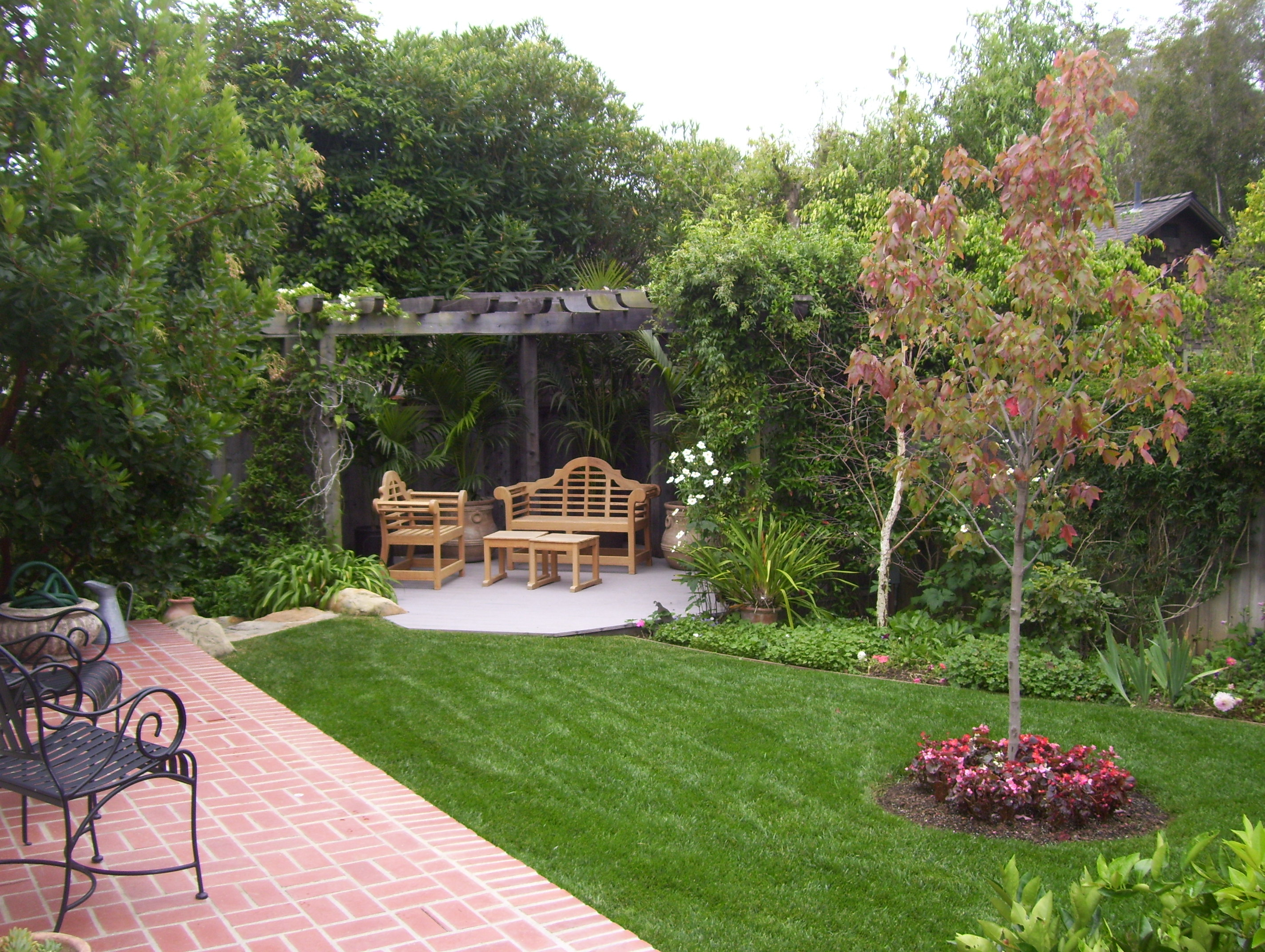 Backyard Landscaping Ideas Santa Barbara Down To Earth Landscapes intended for Cheap Backyard Landscaping Ideas Pictures